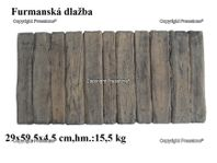 Furmanská dlažba 60x30 cm