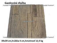 Gazdovská dlažba 39x39 cm/4 cm