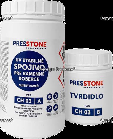 CH03 UV-stabilné pojivo do kamenného koberca