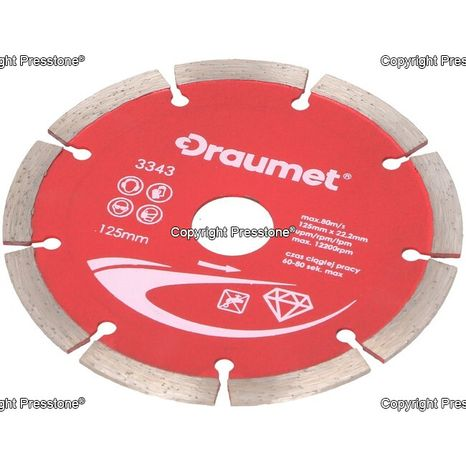 Diamantový kotúč segmentový PREMIUM 125