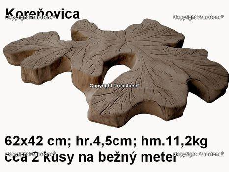 Koreňovica 40x60 cm/4,5cm