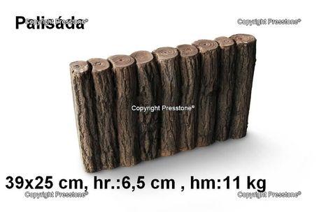 Palisáda 25x39 cm