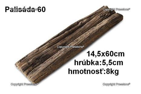 Palisáda 60-14x60 cm