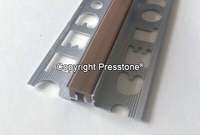 Dilat. profil KOV s vymeniť. vložkou mPVC/AL 10mm