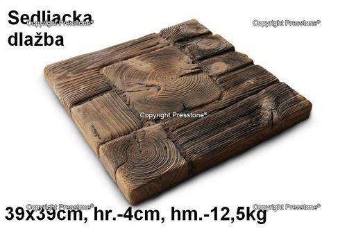 Sedliacka dlažba 39x39 cm/4 cm